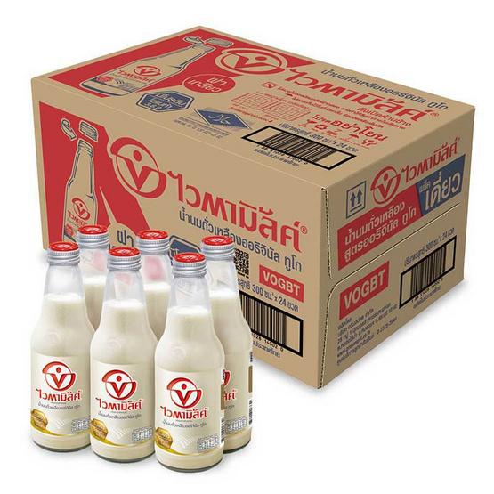 ไวตามิ้ลค์ ทูโก นมถั่วเหลือง รสออริจินัล  300 มล. (ยกลัง 24 ขวด)