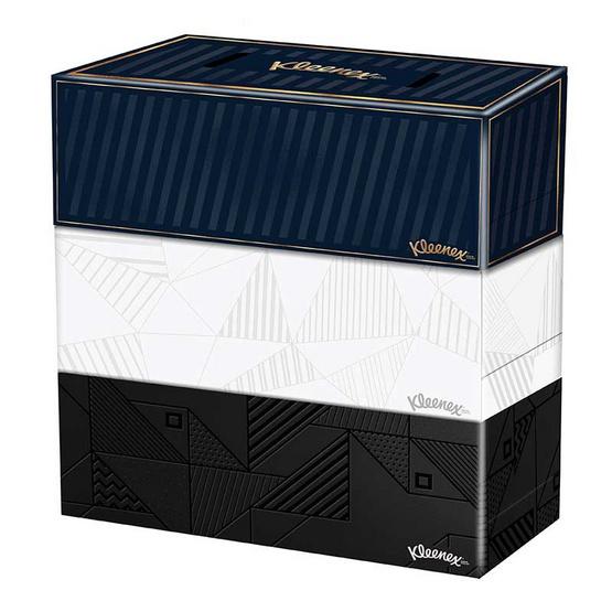 คลีเน็กซ์ บียู กระดาษเช็ดหน้า 140 แผ่น (แพ็ก 3 กล่อง)