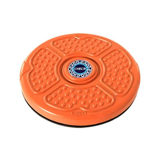 EXEO จานทวิสต์ 10 นิ้ว สีส้ม