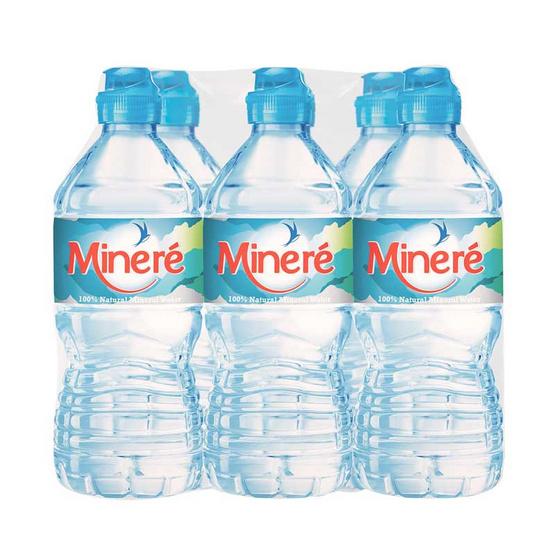 น้ำแร่มิเนเร่ จุกสปอร์ต 750 มล. (แพ็ก 6 ขวด)