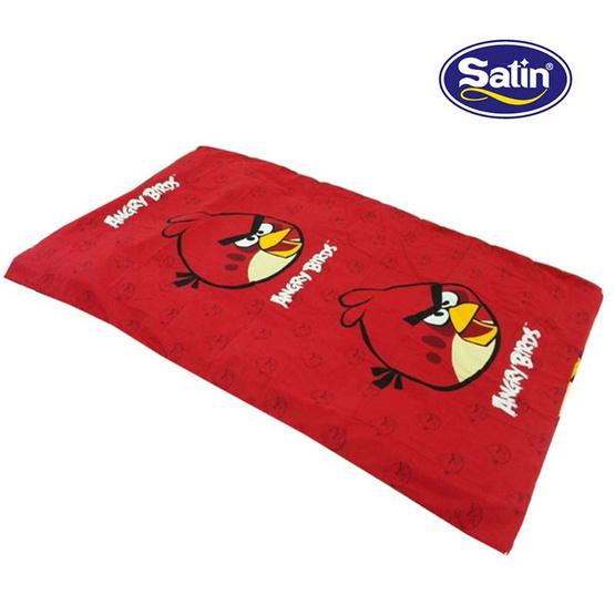 Satin Junior ปิกนิกเย็บติด ลาย D048 Angry Birds
