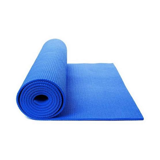 Thai Sun Sport เสื่อโยคะ TPE สีฟ้า หนา 6 มม. แถมฟรี ถุงใส่เสื่อ + สายสะพายไหล่