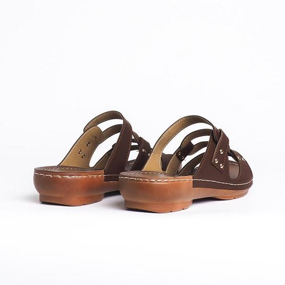D'ARTE รองเท้า SANDALS D53-19019-BRN