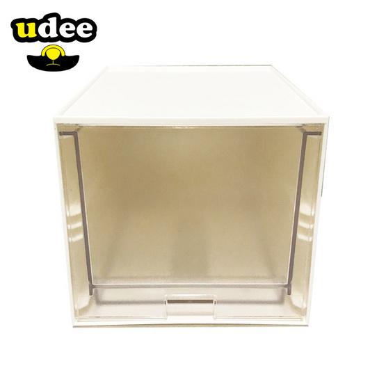 UDEE กล่องลิ้นชักขนาดเล็ก 1 ชั้น (ลิ้นชักใส)