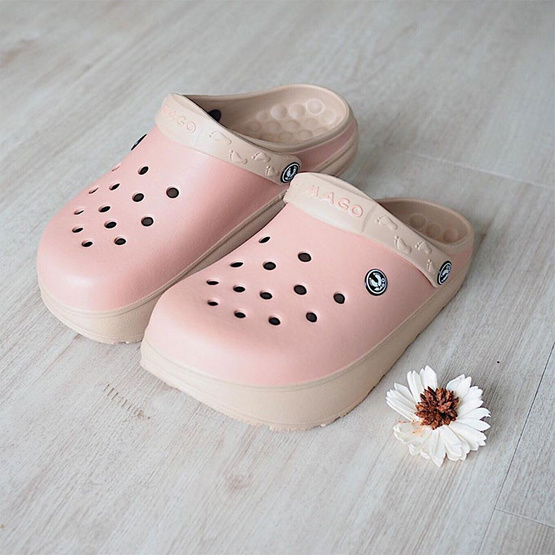 MAGO รุ่น BAMBO สีชมพู รองเท้าสุขภาพ