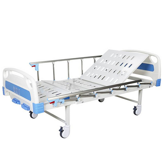 Fasicare เตียงผู้ป่วย 2 ไกด์มือหมุน ราวสไลด์ รุ่น FB-102