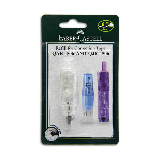 Faber Castell รีฟิลเทปลบคำผิด QAR-506/QJR-506