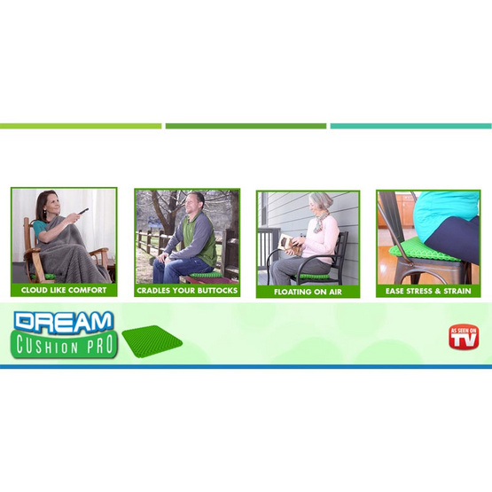 TV Direct DREAM CUSHION PRO เบาะรองนั่งแสนสบาย