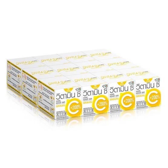 เพรสแอนด์เชควิตามิน เลมอน 3.5 กรัม (แพ็ก 12 กล่อง)