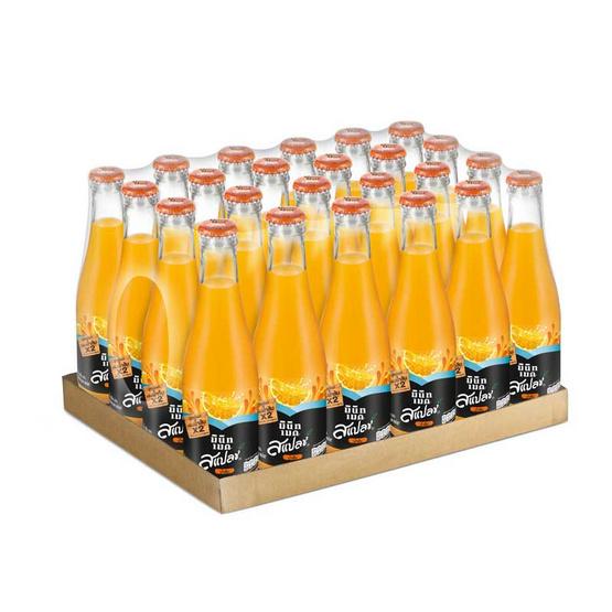 สแปลชน้ำรสส้ม15% (ยกลัง 24 ขวด)