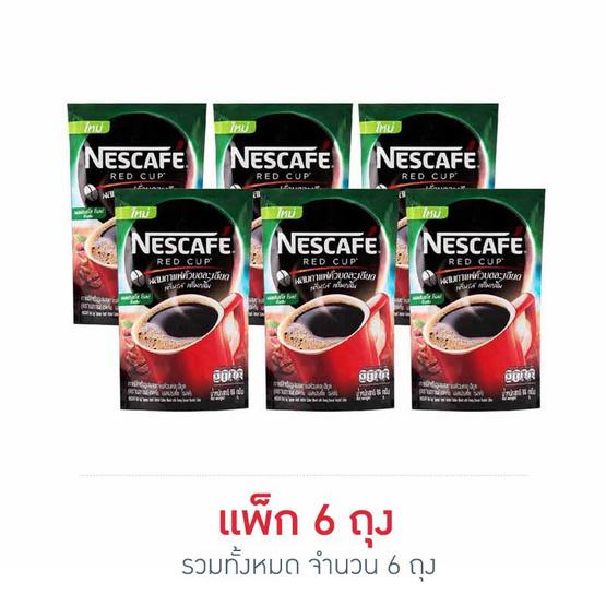 เนสกาแฟเรดคัพ เอสเปรสโซ่ โรสท์ 80 กรัม (6 ถุง)