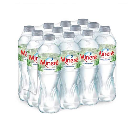 น้ำแร่มิเนเร่ 500 มล. (แพ็ก 12 ขวด)