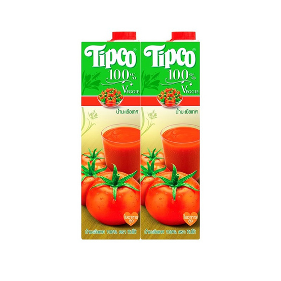 ทิปโก้ น้ำมะเขือเทศ 100% 1,000 มล.