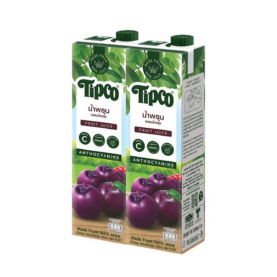 ทิปโก้ น้ำพรุนผสมน้ำองุ่น 100% 1,000 มล.