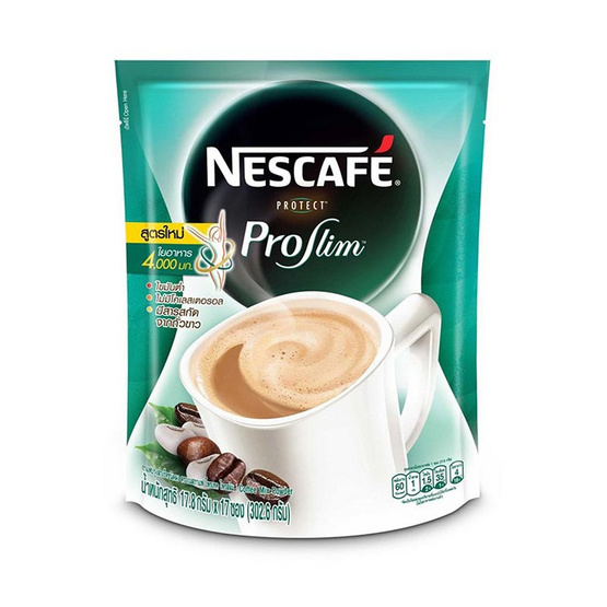 เนสกาแฟ โพรเทคโพรสลิม 17.8 กรัม (17 ซอง/ถุง)