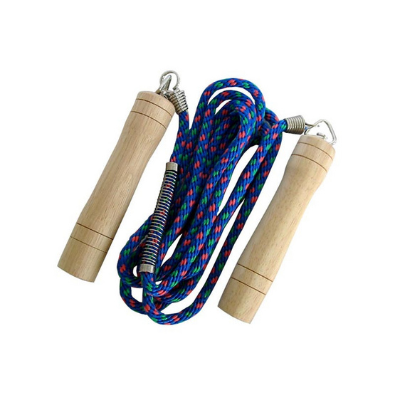 Thai Sports เชือกกระโดด เชือกถัก สีน้ำเงิน