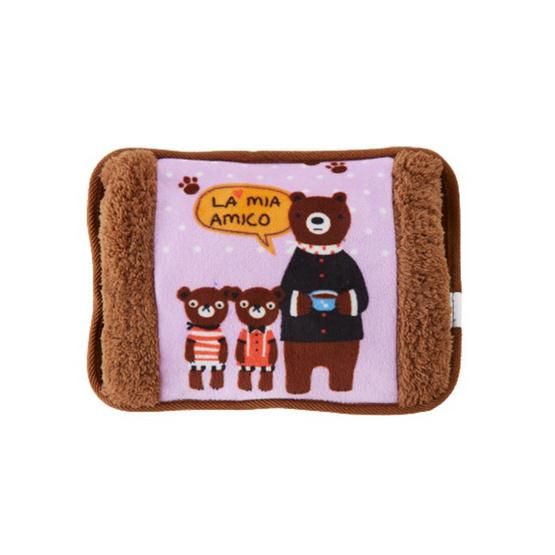 กระเป๋าน้ำร้อน ลายครอบครัวคุณหมี