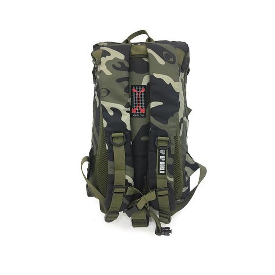BP WORLD กระเป๋าเป้ CAMO Collection รุ่น P6420-GS สีเขียวทหาร