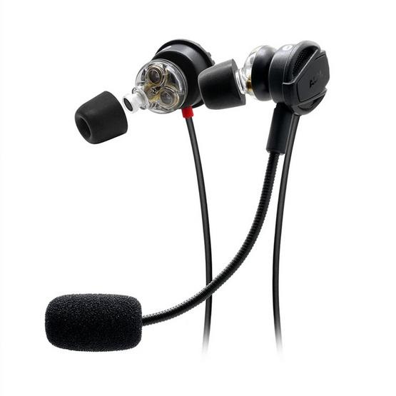 Advanced หูฟัง 3 ไดรเวอร์สำหรับเล่นเกม รุ่น Nismo 3D