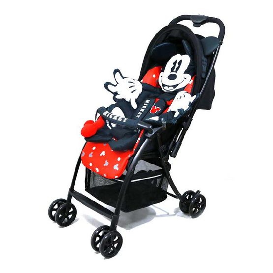 Erin รถเข็นเด็ก Mickey Mouse