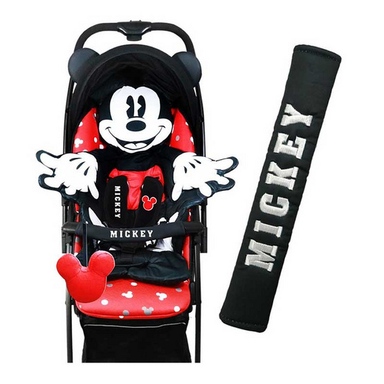 Erin หุ้มราวกั้นรถเข็นเด็ก Mickey