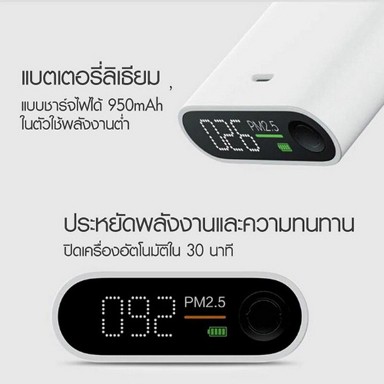 Smartmi PM2.5 เครื่องวัดฝุ่นละอองในอากาศ