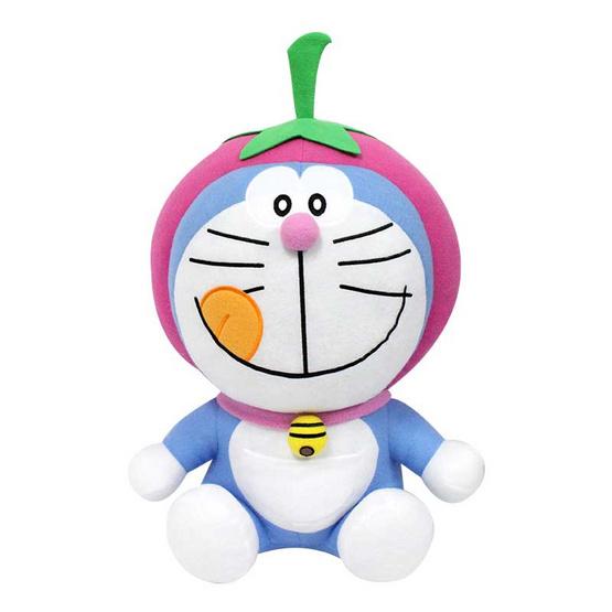ตุ๊กตาโดเรมอนหัวผลไม้ (คละแบบ) 1 ตัว