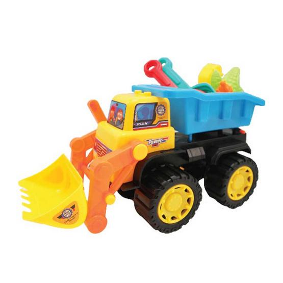 VR Toys รถตักดินพร้อมอุปกรณ์ตักทราย (คละสี)