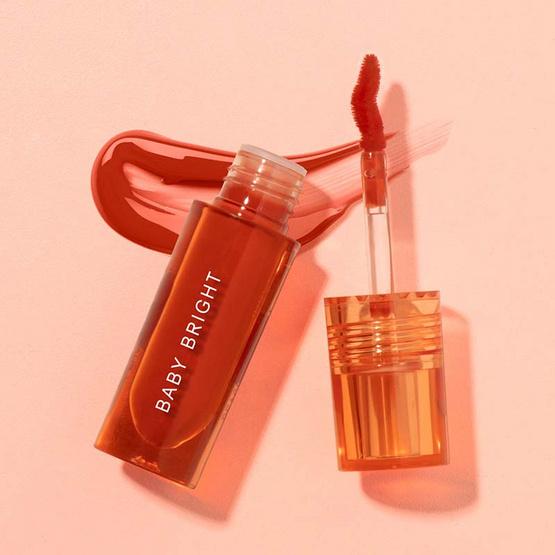 Baby Bright ลิปแอนด์ชีค Lip & Cheek Peach Glow Tint 2.4 g #04 Cinnamon Peach