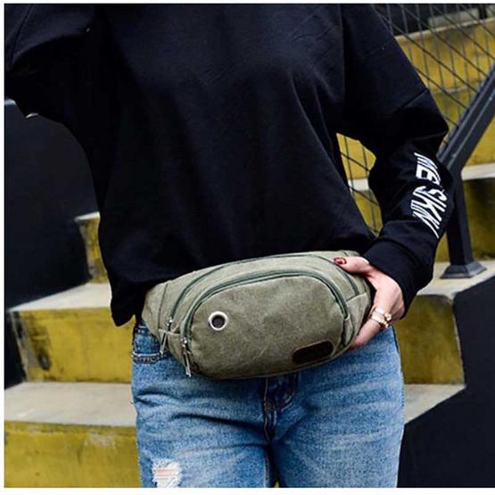 OSAKA รุ่น ER03 -สีเขียว กระเป๋าคาดอก