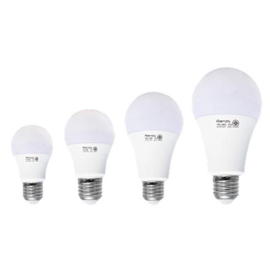 RANDY หลอด LED Bulb 5 วัตต์ (แสงเหลือง) 3แถม1