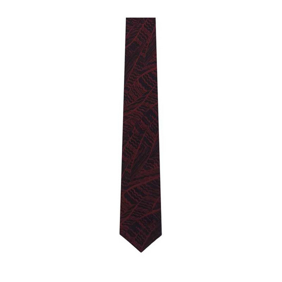 DAPPER 7 cm Zig Zag Motif Jacquard Tie