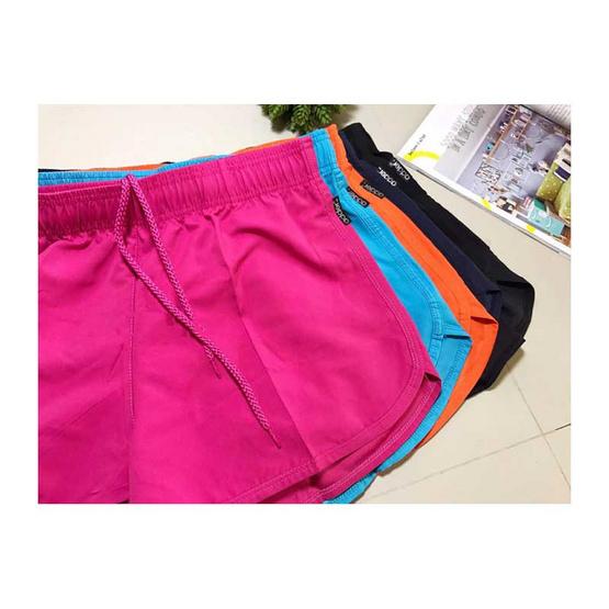 กางเกงขาสั้น รุ่น ADW168 สี YELLOW