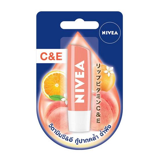 นีเวีย ลิปแคร์พีชชี่ซีแอนด์อี 4.8 กรัม