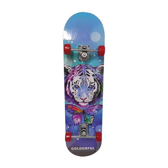 สเก็ตบอร์ด Skate board ลาย Tiger