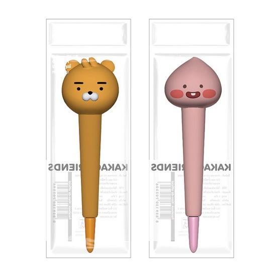 ปากกาเจลสกุชชี่ KAKAO FRIENDS คละลาย (แพ็ก 2 ด้าม)