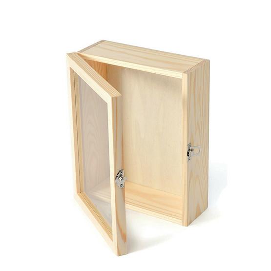 LAKSANABO x กล่องกระจกพร้อมตัวล็อก 8 x 12 นิ้ว