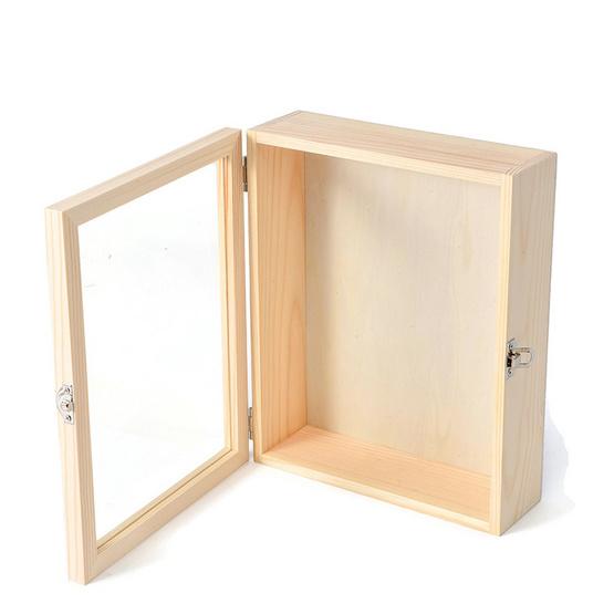 LAKSANABO x กล่องกระจกพร้อมตัวล็อก 10 x 10 นิ้ว