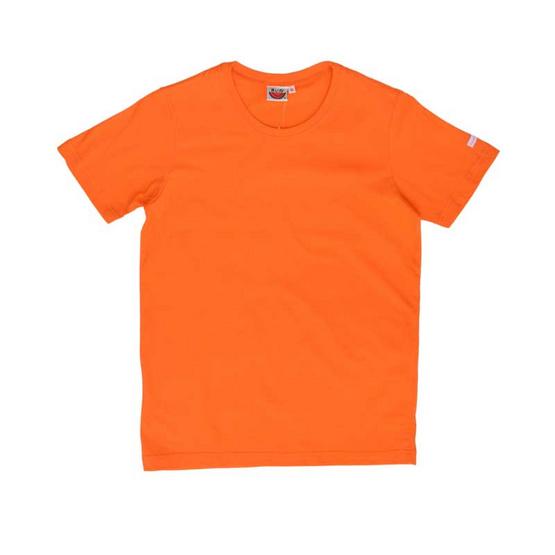 แตงโม เสื้อยืดคอกลมแขนสั้น SS สี SS12 ส้ม