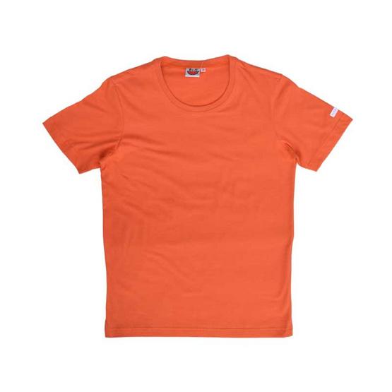 แตงโม เสื้อยืดคอกลมแขนสั้น SS สี SS53 ส้มอิฐ