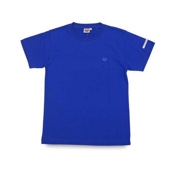 แตงโม เสื้อยืดคอกลมรุ่นออริจินัล สี 62 น้ำเงิน