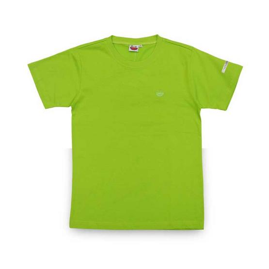 แตงโม เสื้อยืดคอกลมรุ่นออริจินัล สี 28 เขียวตอง