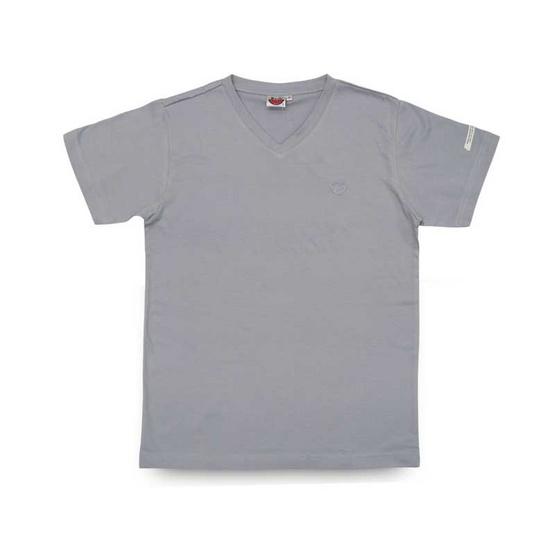 แตงโม เสื้อยืดคอวีรุ่นออริจินัล สี 71 เทาอ่อน