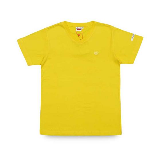 แตงโม เสื้อยืดคอวีรุ่นออริจินัล สี 24 เหลือง