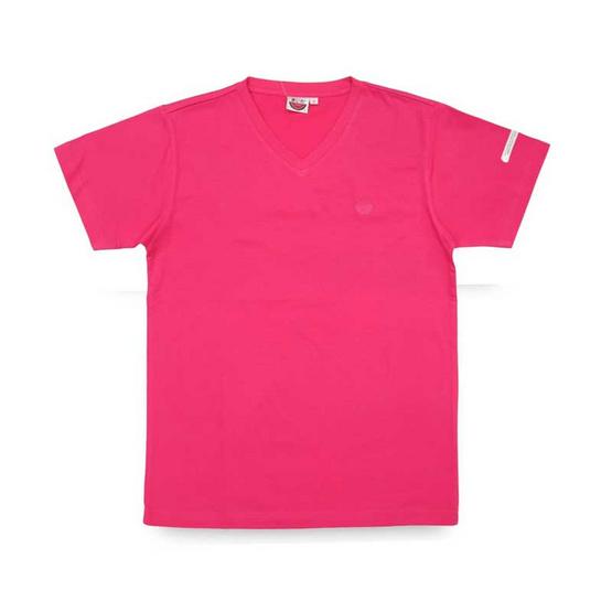 แตงโม เสื้อยืดคอวีรุ่นออริจินัล สี 22 บานเย็น