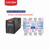 Zircon UPS Seven Dream 850VA Black ( Exclusive Model For ShopAt24 )