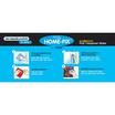 Home-Fix สติ๊กเกอร์ใสพิมพ์ลาย 340 ขนาด 0.9 x 2 ม. (ซื้อ 1 แถม 1)