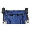 Fasicare TAVEL รถเข็นผู้ป่วยอะลูมิเนียมอัลลอย รุ่น FAL-115B เบาะสีน้ำเงินลายเส้นตรง ฟรี!กระเป๋าใส่รถเข็น
