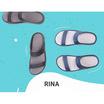 MAGO รุ่น RINA สีกรม รองเท้าสุขภาพ