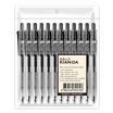 ปากกาเจลหมึกดำ U-Click 0.5มม. KIAN-DA (แพ็ก12ด้าม)
